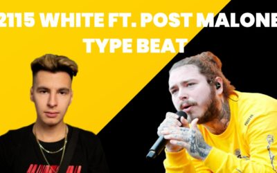 "2115 White Type Beat Ft. Post Malone | Bit w stylu trap | ""PURPOSE"""